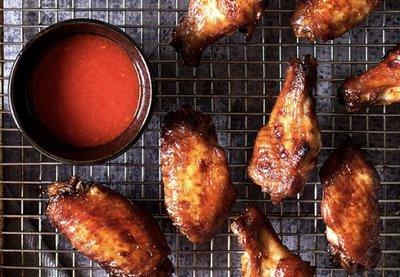 TAPA: BBQ Honey-Thyme Chicken Wings - Pindasatésaus