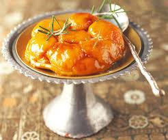 tatin van abrikoos - dulce de leccecrème